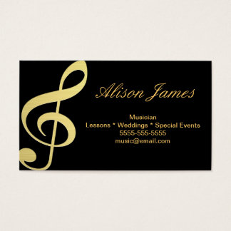 Musician Cartes De Visite