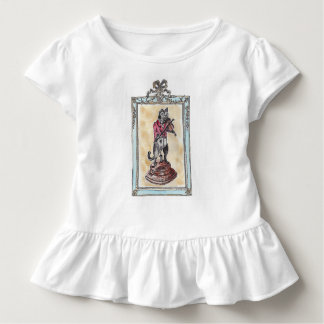 Musician cat toddler t-shirt