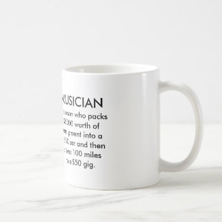 Musician Define Mug