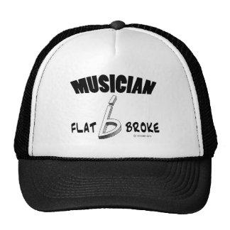 Musician - Flat Broke Trucker Hat