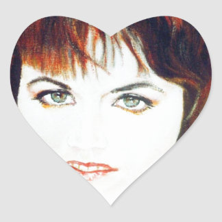 Musician Heroes Heart Sticker