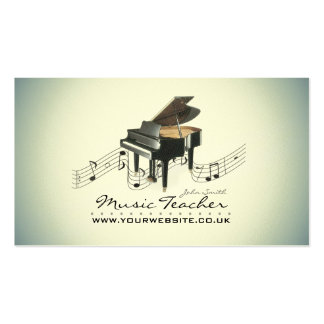 Musician/Music Teacher Business Card