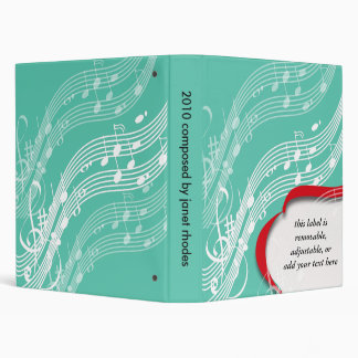 Musician Notes, Composer binders