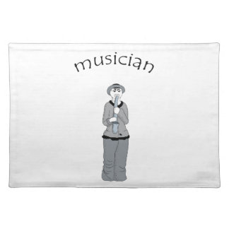 musician placemat