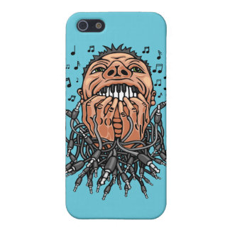 musician plays on his teeth like on keyboard iPhone 5 case