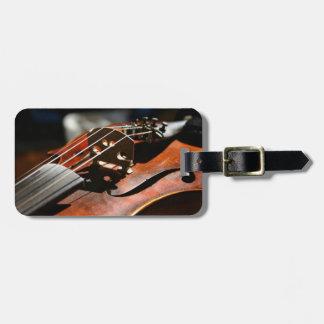 Musician Violin Case Travel ID Luggage Tag