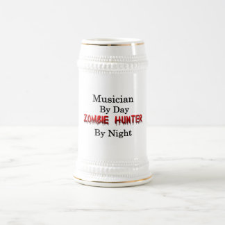 Musician/Zombie Hunter Beer Stein