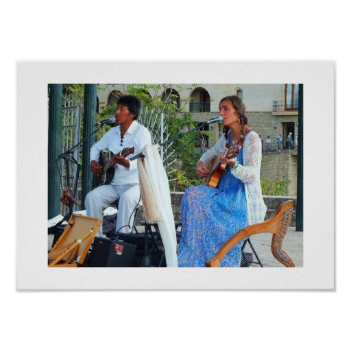 Musicians in Spain Posters