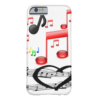Musicians' music iphone case white-red-black