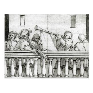 Musicians of Henry VIII Postcard