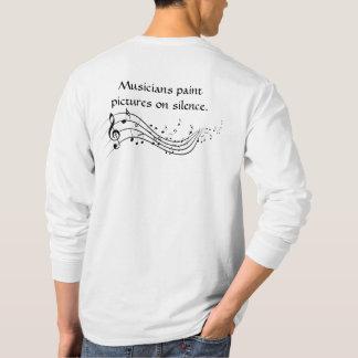 Musicians Paint Long Sleeve Shirt