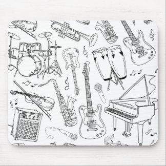Musicians Paradise Mouse Pad