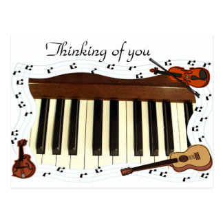 , Musicians Rock_ Postcard