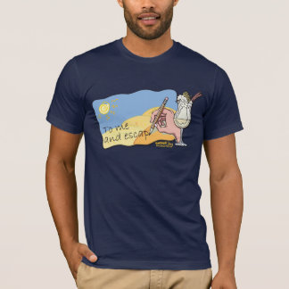 MusicToon : Pina Colada Song : T-shirt