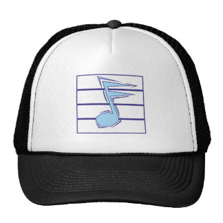 Musiknote note hats