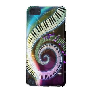 Musique 1 caisse de point coque iPod touch 5G