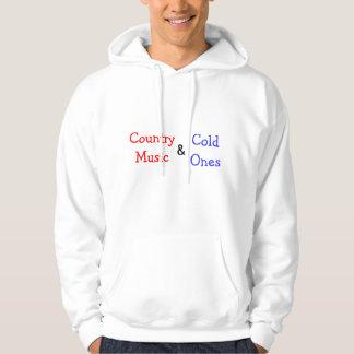 Musique country et froid ceux sweatshirt