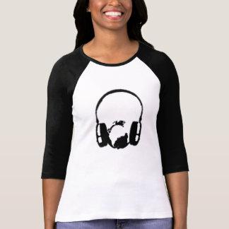 musique dans le monde entier tshirts