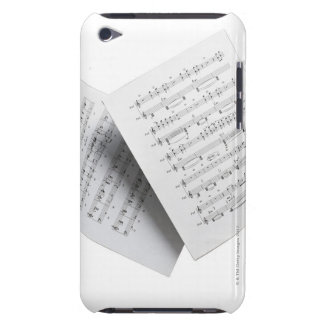 Musique de feuille 12 coque barely there iPod
