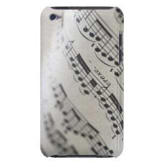 Musique de feuille 9 coques barely there iPod