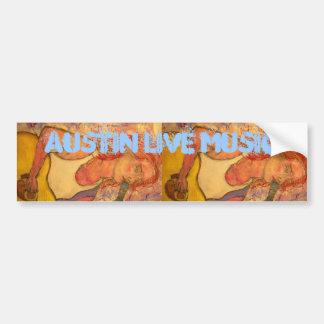 musique en direct d'Austin Autocollant De Voiture