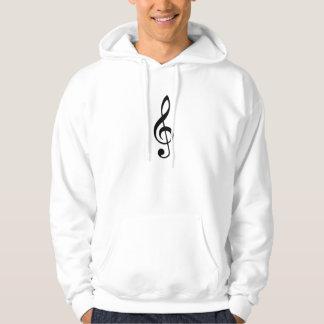 Musique Note_ Sweat-shirts Avec Capuche