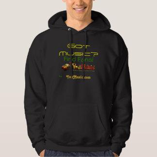 Musique obtenue ? sweat-shirts avec capuche