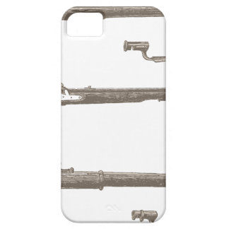 Muskets Old Rifles Vintage Antique Guns Case For The iPhone 5