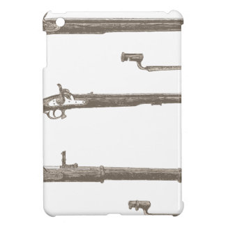 Muskets Old Rifles Vintage Antique Guns iPad Mini Cover