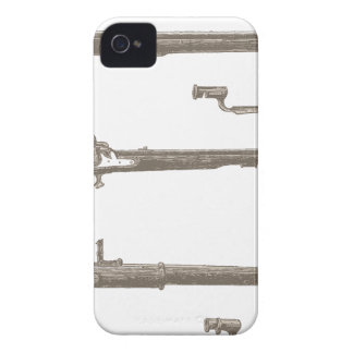 Muskets Old Rifles Vintage Antique Guns iPhone 4 Cover