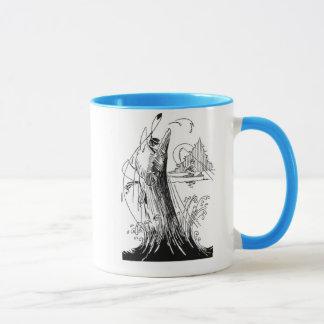 Muskie Lunge coffee mug
