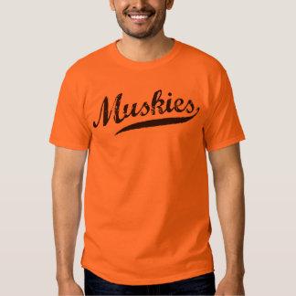 MUSKIES sports team shirts jerseys customizable