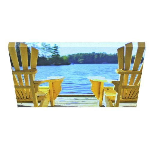 Muskoka Chair Canvas Stretched Canvas Prints