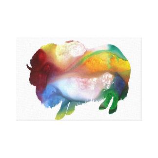 Muskox Canvas Print