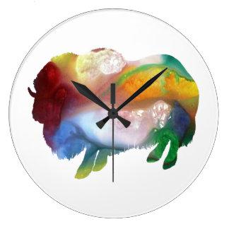 Muskox Large Clock