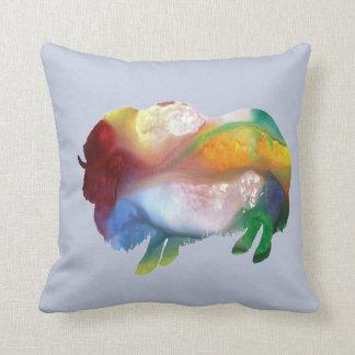 Muskox Throw Pillow