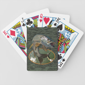 Musky 6 bicycle playing cards