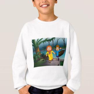 Muslim and forest sweatshirt