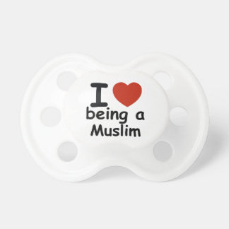 Muslim design baby pacifier