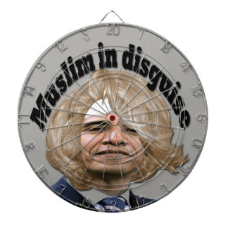 Muslim in Disguise Dart Boards