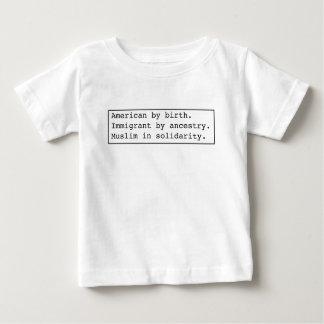 Muslim-in-solidarity light apparel baby T-Shirt