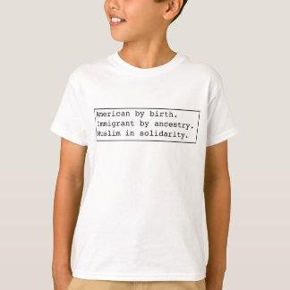 Muslim-in-solidarity light apparel T-Shirt
