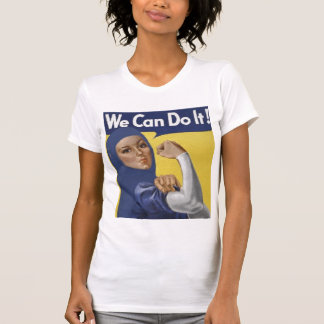 MUSLIMAHS CAN DO IT TOO! T-Shirt