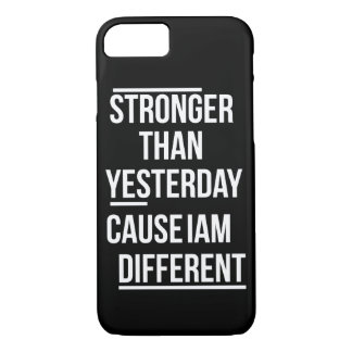 Must be strong im different! iPhone 8/7 case