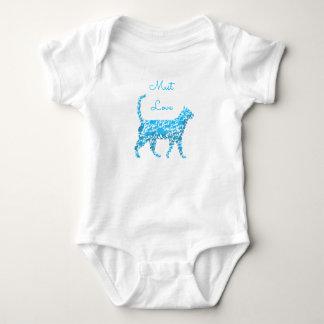 Must Love Cat Baby Jersey Baby Bodysuit