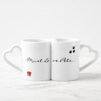 Must Love Pets - Mug Pair