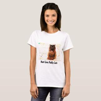 Must Love Puffy Cats T-Shirt