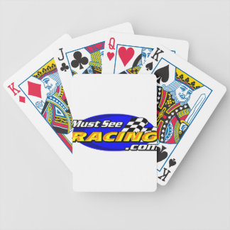 Must See Racing Bicycle Playing Cards