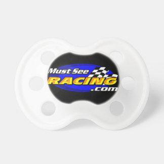 Must See Racing binky Pacifier