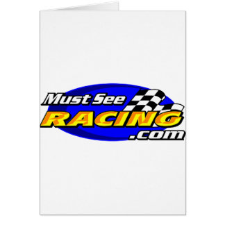 Must See Racing Card